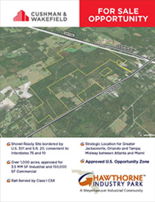 Cushman & Wakefield Overview Brochure for Hawthorne Industry Park